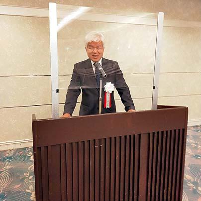 2021年度名古屋支部総会-片岡支部長