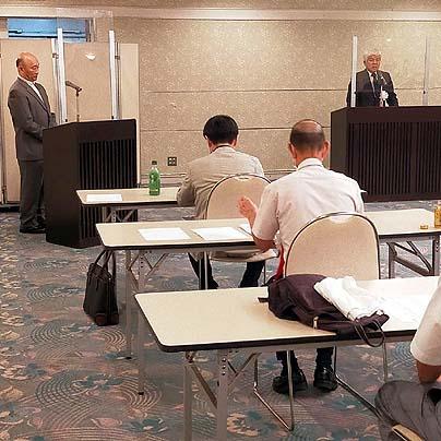 2021年度名古屋支部総会-支部長挨拶